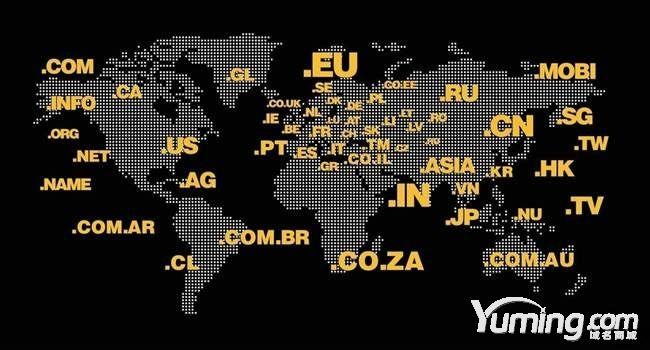 互联网的域名和域名系统分别是什么?